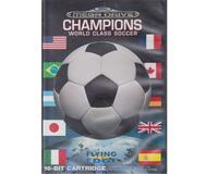 Champions World Class Soccer m. kasse og manual (SMD)