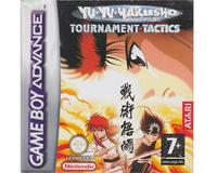 Yu Yu Hakusho Ghostfiles : Tournament Tactics m. kasse og manual