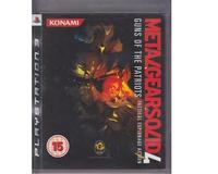 Metal Gear Solid 4 (PS3)