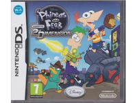 Phineas and Ferb : Across the 2nd Dimension (Nintendo DS)